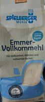 Spielberger Emmer-Vollkornmehl - Product - en