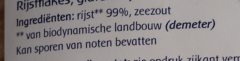 Copos de arroz - Ingredients - nl