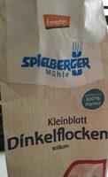 Kleinblatt Dinkel flocken - Product - en