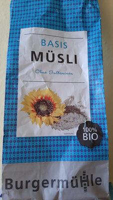 Basis Müsli ohne Sultaninen - Produit