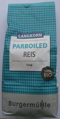 Parboiled Reis - Produkt