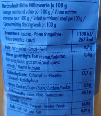 Weizenkleie - Nutrition facts - de