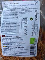 Corn Flakes, Spielberger, Bio - Ingrédients - fr