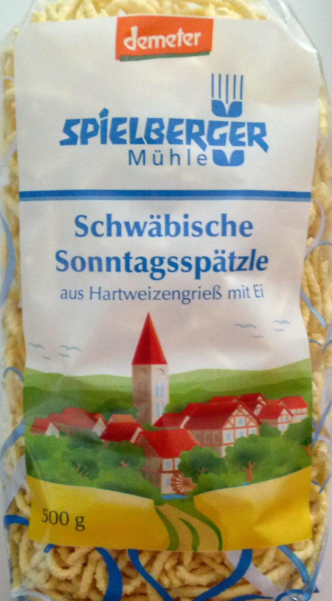 Schwäbische Sonntagsspätzle - Product - de
