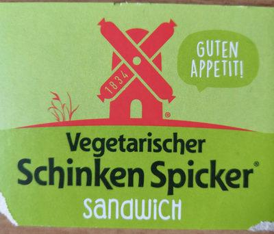 Vegetarischer Schinken Spicker® Sandwich - Product - de