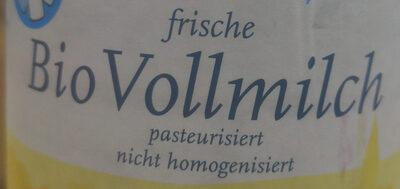 Bio Vollmilch - Ingredienti - de