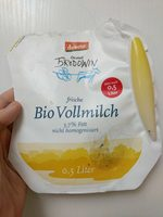 frische Bio Vollmilch - Product - en