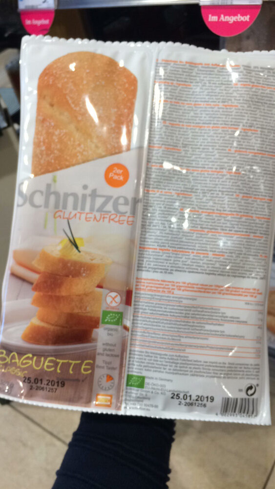 Baguette Classique Bio - 360 GR - Schnitzer - Prodotto - fr