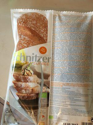 Gluten Free Organic Baguette Rustic - Product