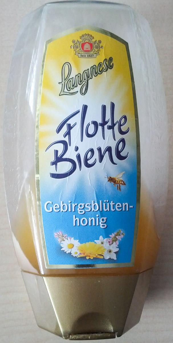 Langnese Flotte Biene Gebirgsblütenhonig - Product - de