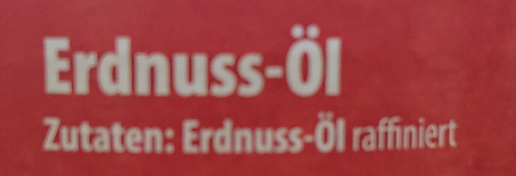 Erdnuss-Öl - Ingrédients - de
