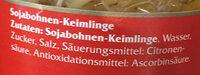 Sojabohnen Keimlinge - Ingrédients - de
