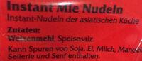 Mie Nudeln - Ingrédients - de