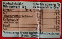 Soeoen Laksa Glasnudeln - Informations nutritionnelles - de