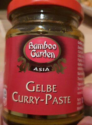 Gelbe Curry-Paste - Produit - de
