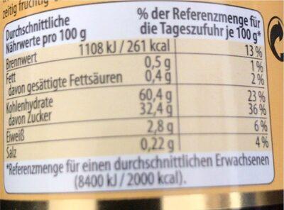 Tamarinden-Paste - Informations nutritionnelles - de