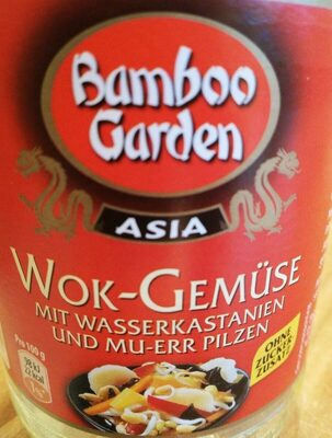 Wok Gemüse mit Wasserkastanien und Mu-Err Pilzen - Produit