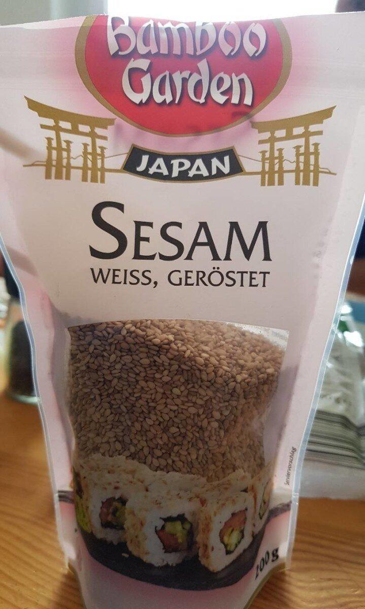 Bamboo Garden Sesam, weiß geröstet - Produit - de
