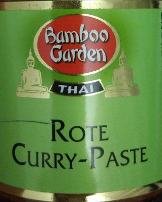 Rote Curry-Paste - Produit - fr