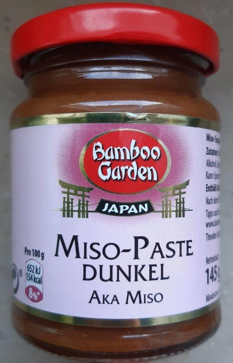 Miso-Paste Dunkel - Produit - de