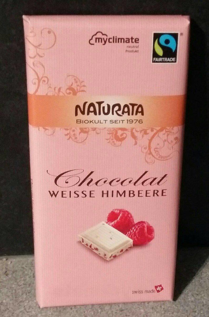 Chocolat blanc framboises - Product