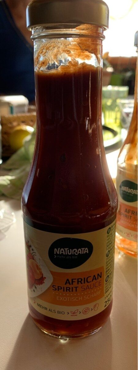 African spirit sauce - Product - fr