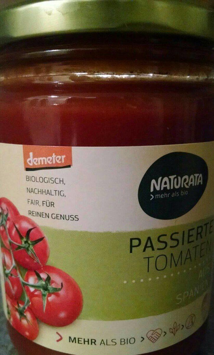Coulis de tomate bio - Produit
