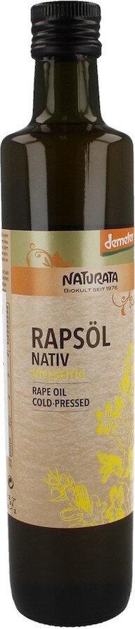 Rapsöl nativ - Prodotto - en