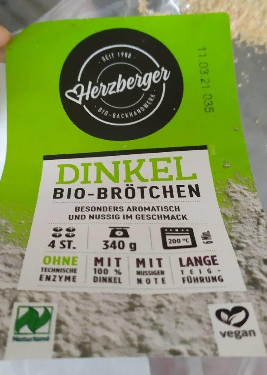 Dinkel Bio Brötchen - Product - de