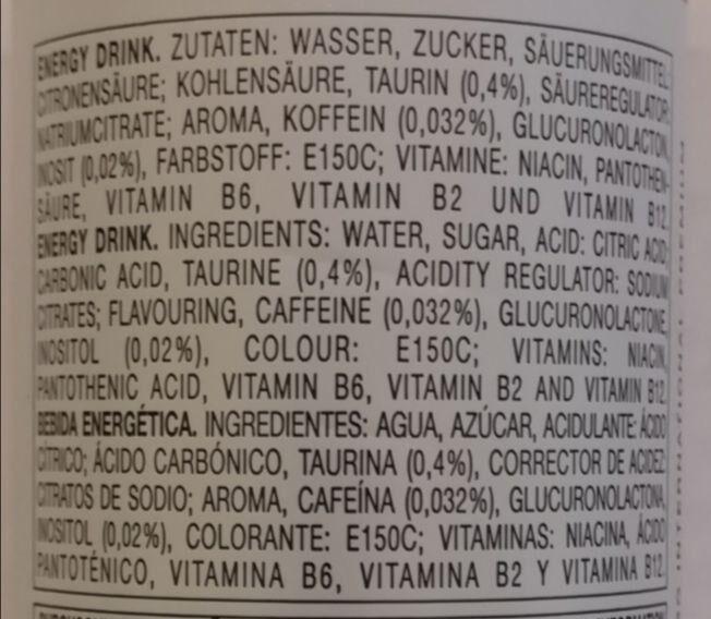 effect high quality energy drink - Produkt - de