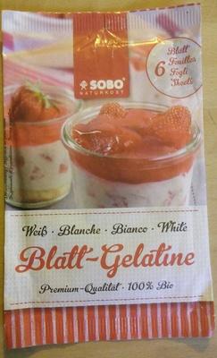 Gélatine - Product