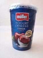 Muller Iaurt cu bucăți de cireșe - Product - ro