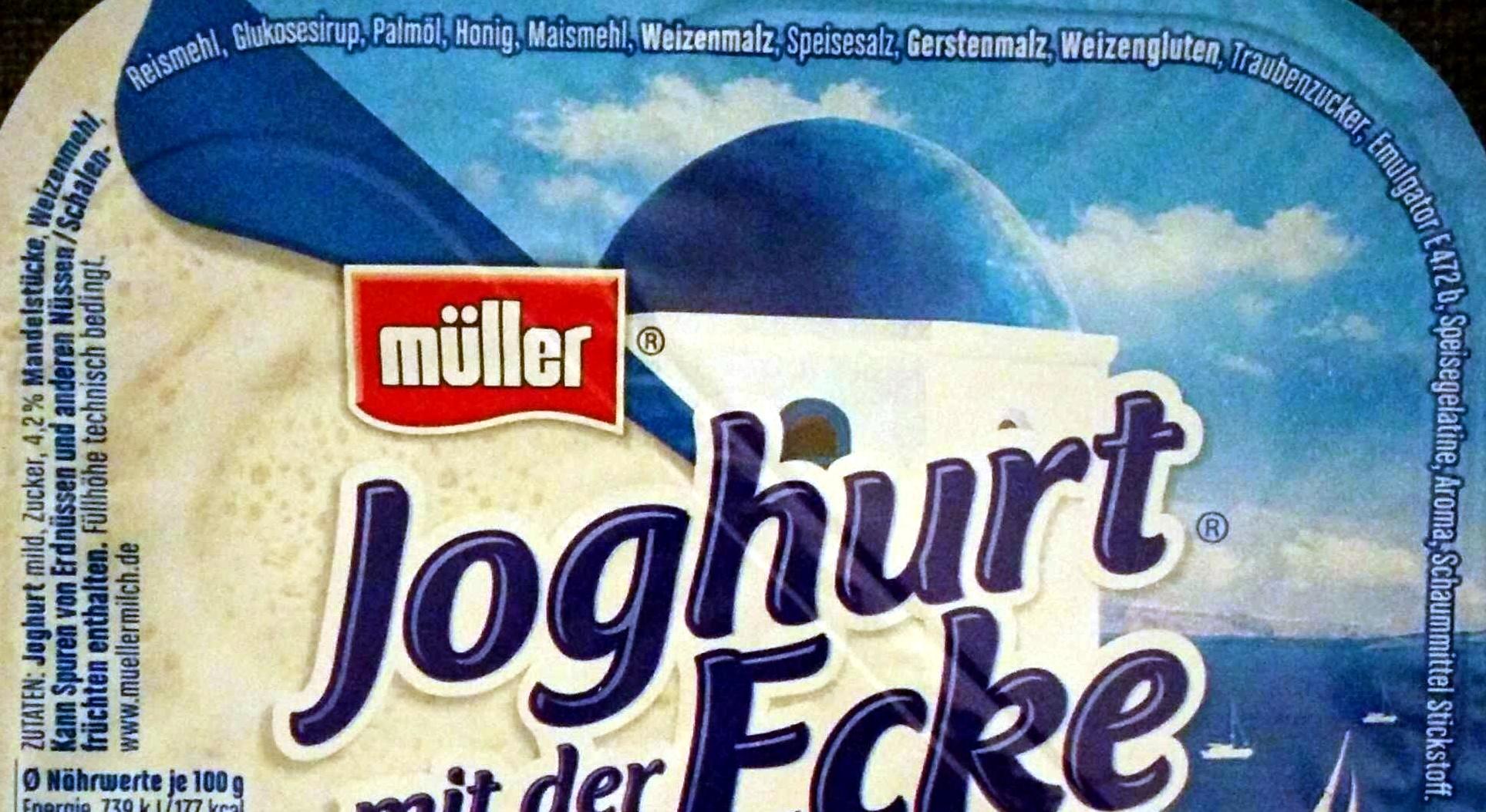 Joghurt mit der Ecke Griechischer Art Mandel Crunch - Ingrédients