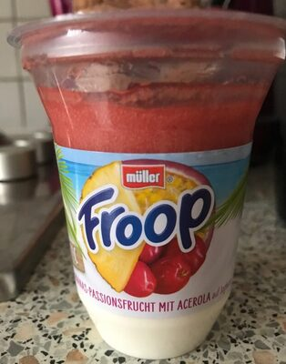 Froop Tropic Ananas-Passionsfrucht mit Acerola - Product - de