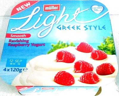 Light Greek Style Smooth Ravishing Raspberry Yogurt - Product - en