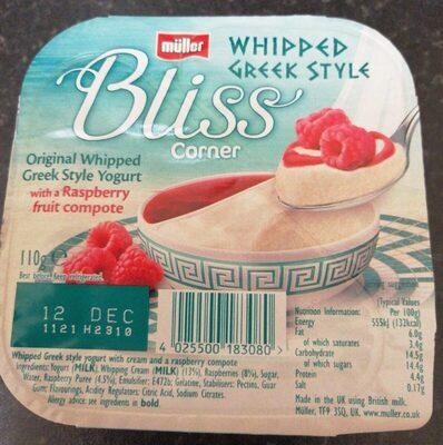 Whipped Greek Style Yogurt - Product - en