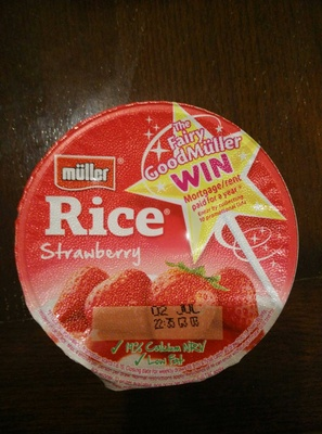 Muller Rice Strawberry - Product - en
