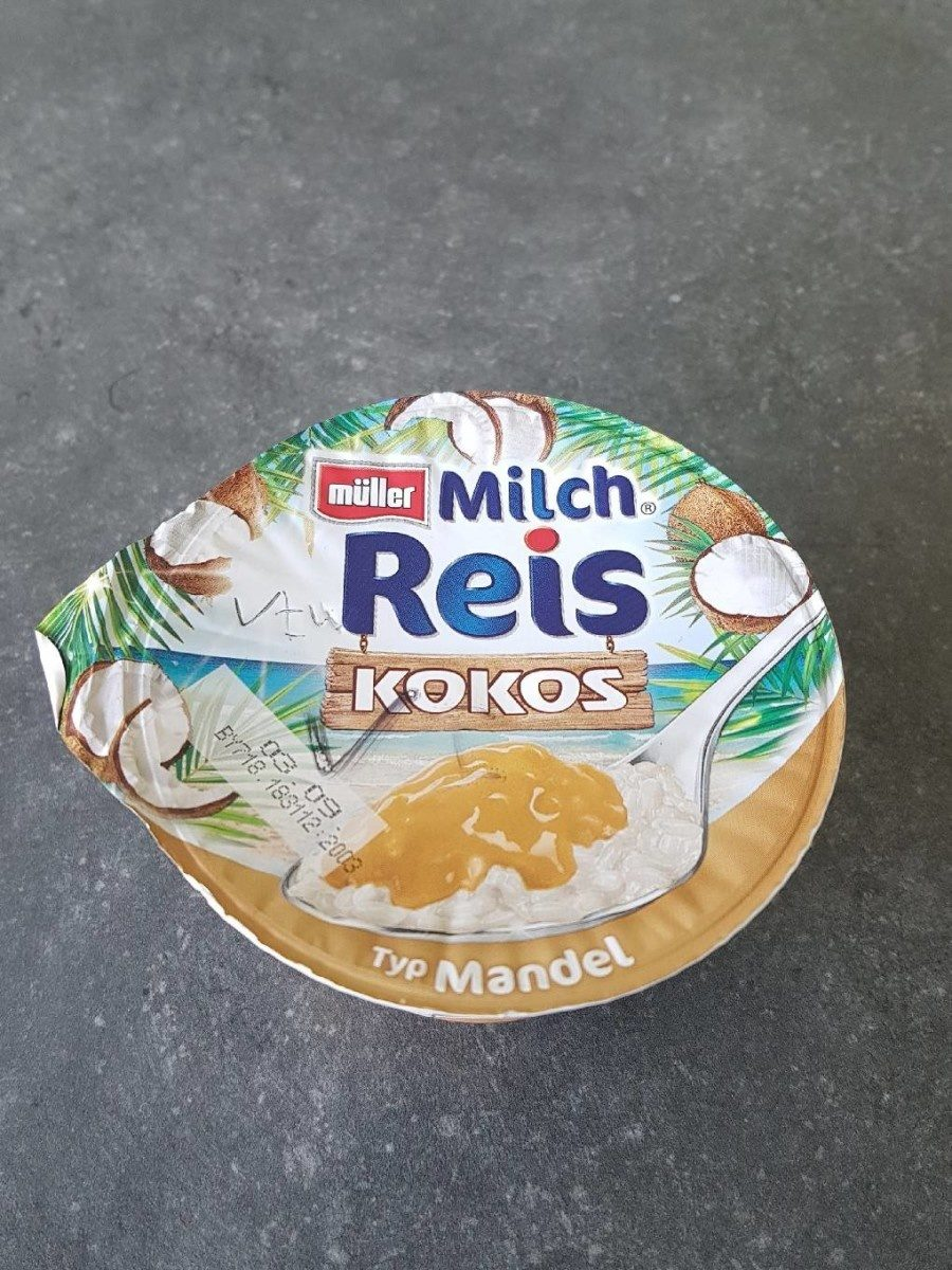 Müller Milch Reis Kokos Typ Mandel - Product