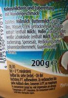 Müller Milch Reis Kokos Typ Mandel - Ingrediënten