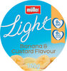 Light Fat Free Banana and Custard Yogurt - Product