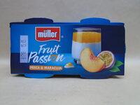 Muller Fruit Passion - piersici & fructul pasiunii - Product - ro