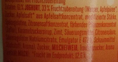 Froop Typ Bratapfel - Ingrédients