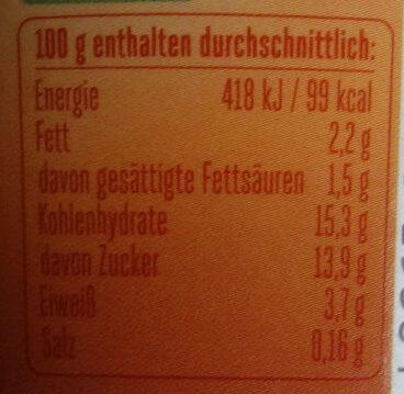 Froop Typ Bratapfel - Informations nutritionnelles