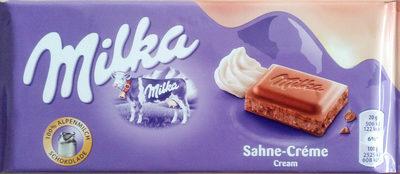 Milka Sahne-Creme - Produit