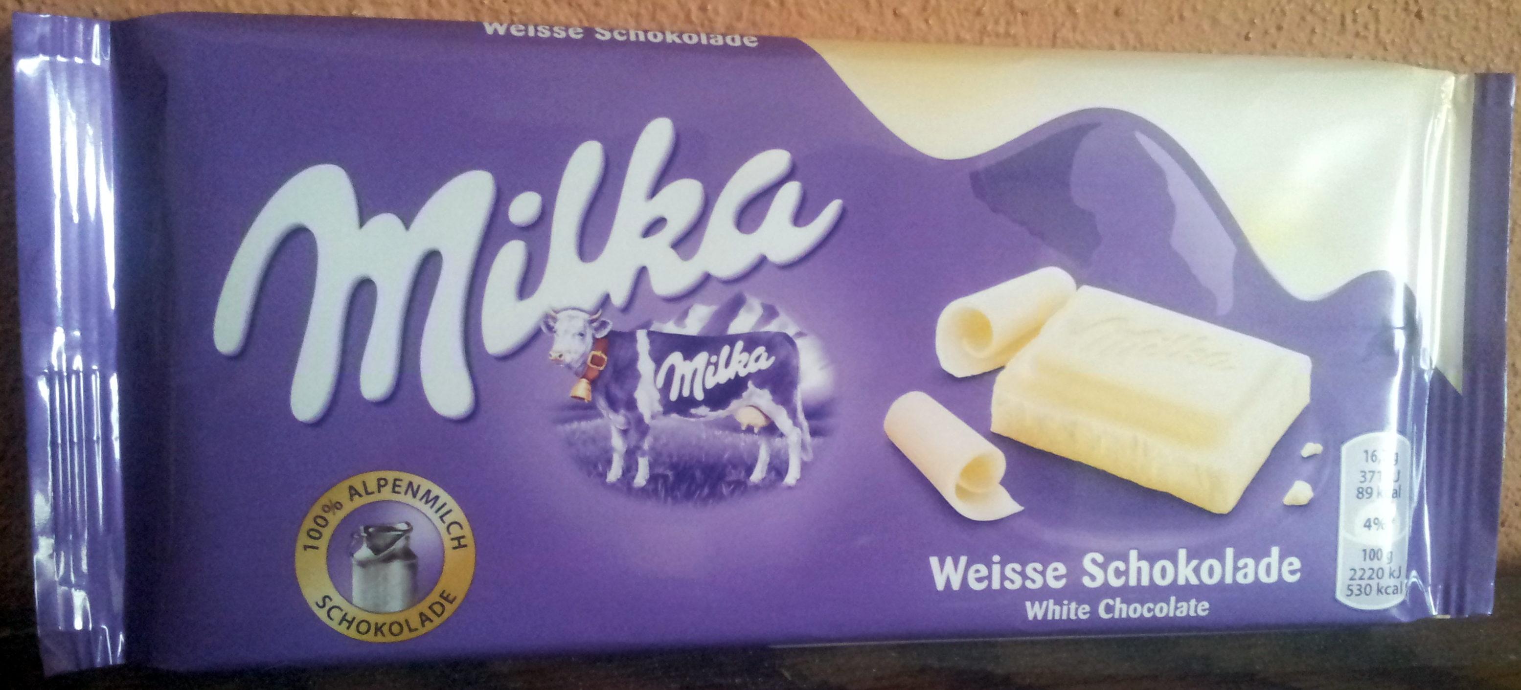 White Chocolate Bar - Product
