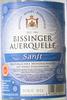 Bissinger Auerquelle Sanft - Produit