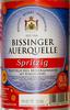 Bissinger Auerquelle Spritzig - Produkt