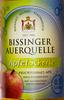 Bissinger Auerquelle Apfelschorle - Produkt