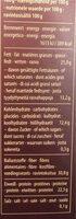 Kalao - Informations nutritionnelles - de