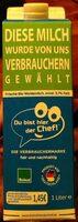 Frische Bio Weidemilch - Product - de
